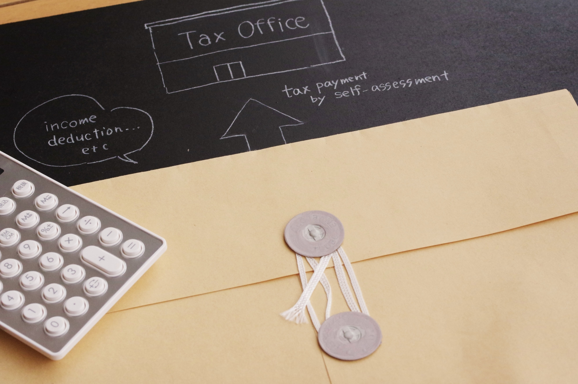 ④確定申告書提出・納税
